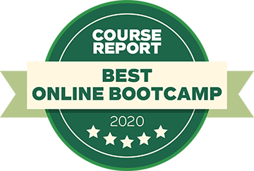 Course Report 2020 badge