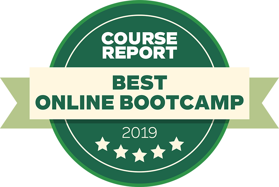 Course Report 2019 badge