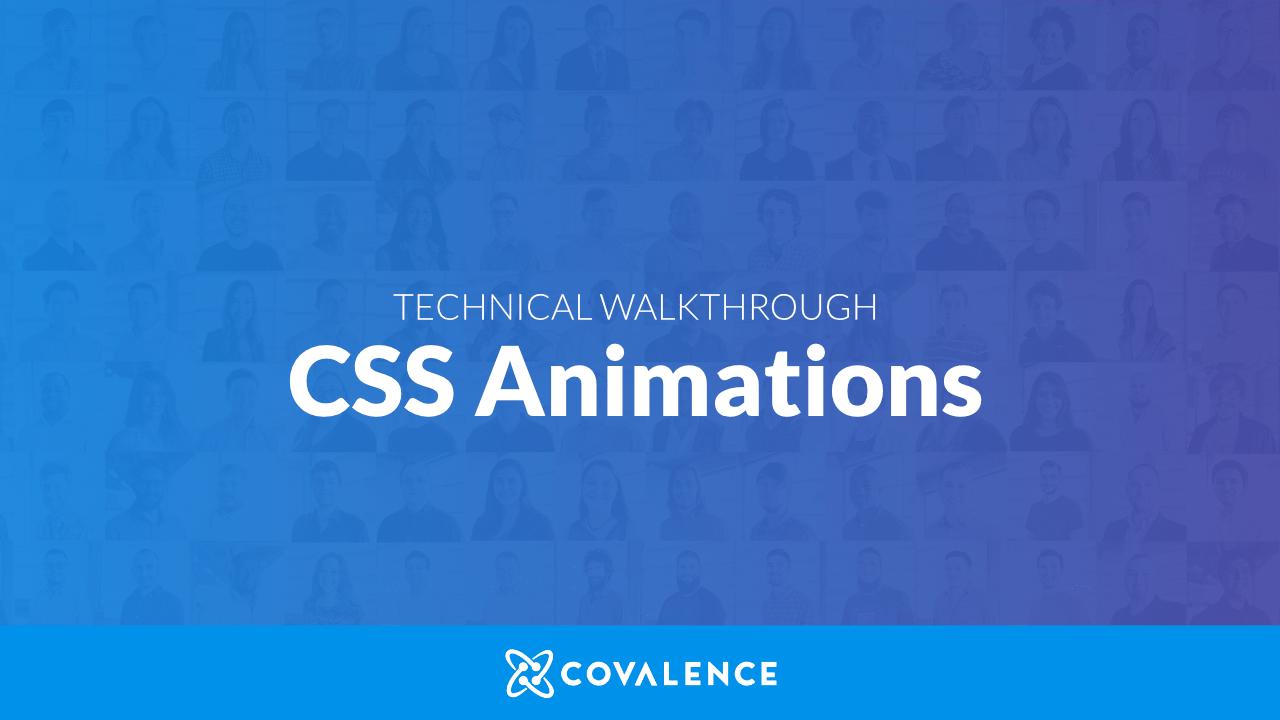 Walkthrough - CSS Animations hero